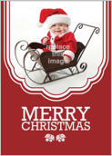 Child Sled - greeting-cards Maker