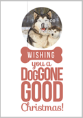 Doggone Christmas - greeting-cards Maker