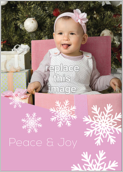 Snow Flake - greeting-cards Maker