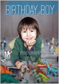Universe Boy - greeting-cards Maker
