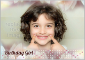Birthday Girl - greeting-cards Maker