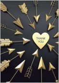 Arrow Thanks - greeting-cards Maker