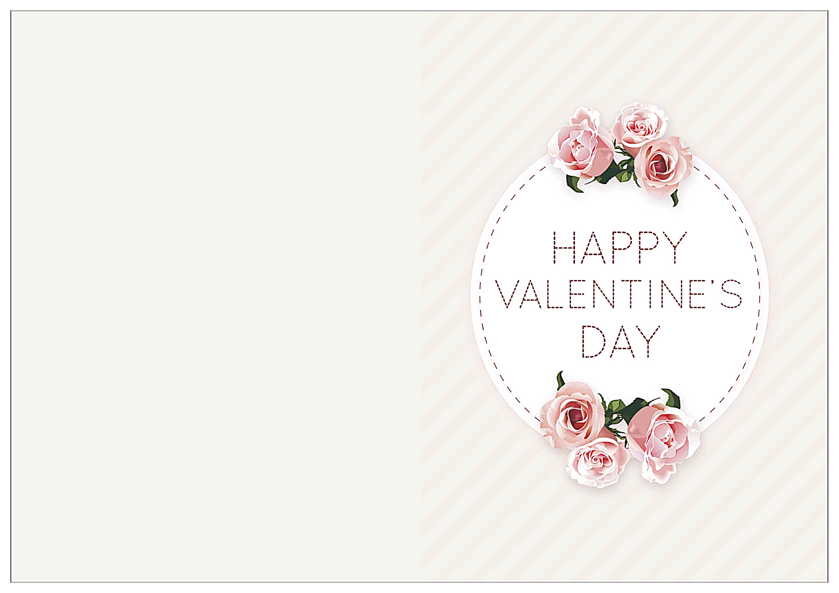Valentine Stitch front - Greeting Cards Maker