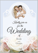 Floral Wedding - greeting-cards Maker