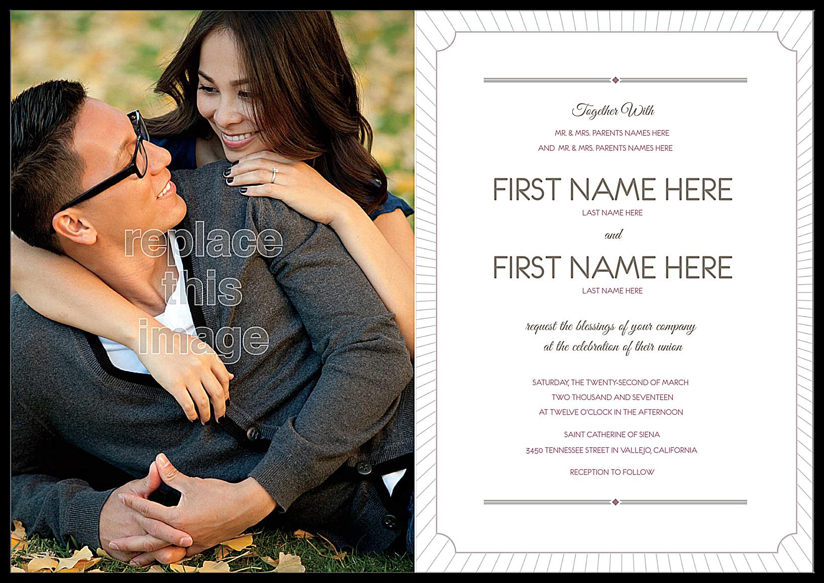 Love is Radiant back - Greeting Cards Maker