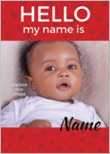 Hello my name is - greeting-cards Maker