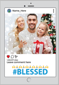 Blessed - greeting-cards Maker