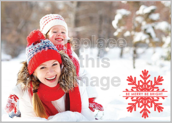 Snow Fun - greeting-cards Maker