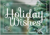 Evergreen Wishes - greeting-cards Maker