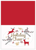 Holiday Deer - greeting-cards Maker
