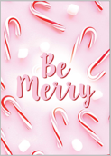Merry Peppermint - greeting-cards Maker