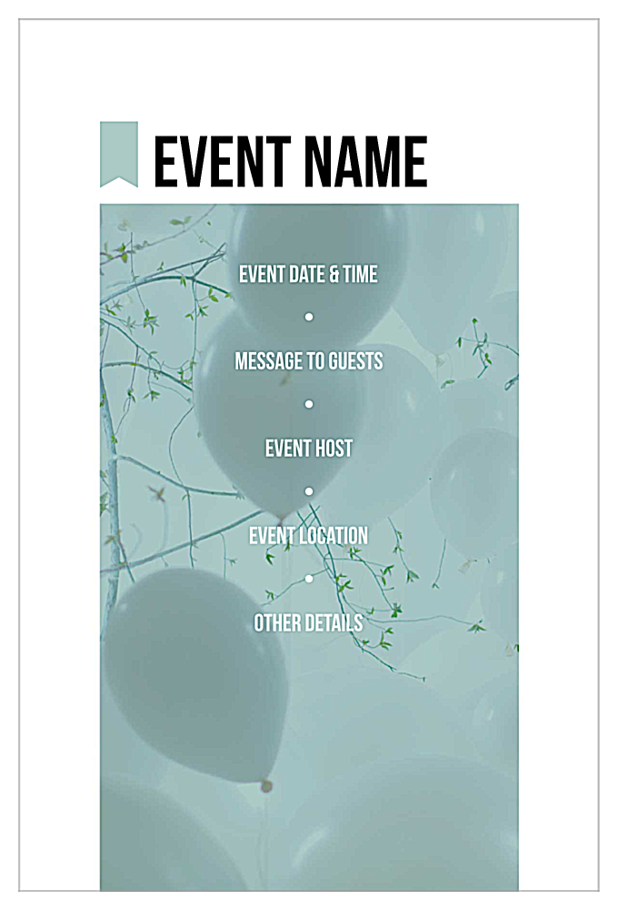 Easy-To-Use Piece of Cake Invitation Card Design Template back - Invitation Cards Maker