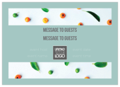 Fruit Leaves - invitation-cards Maker