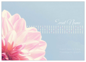 Flower Dots - invitation-cards Maker