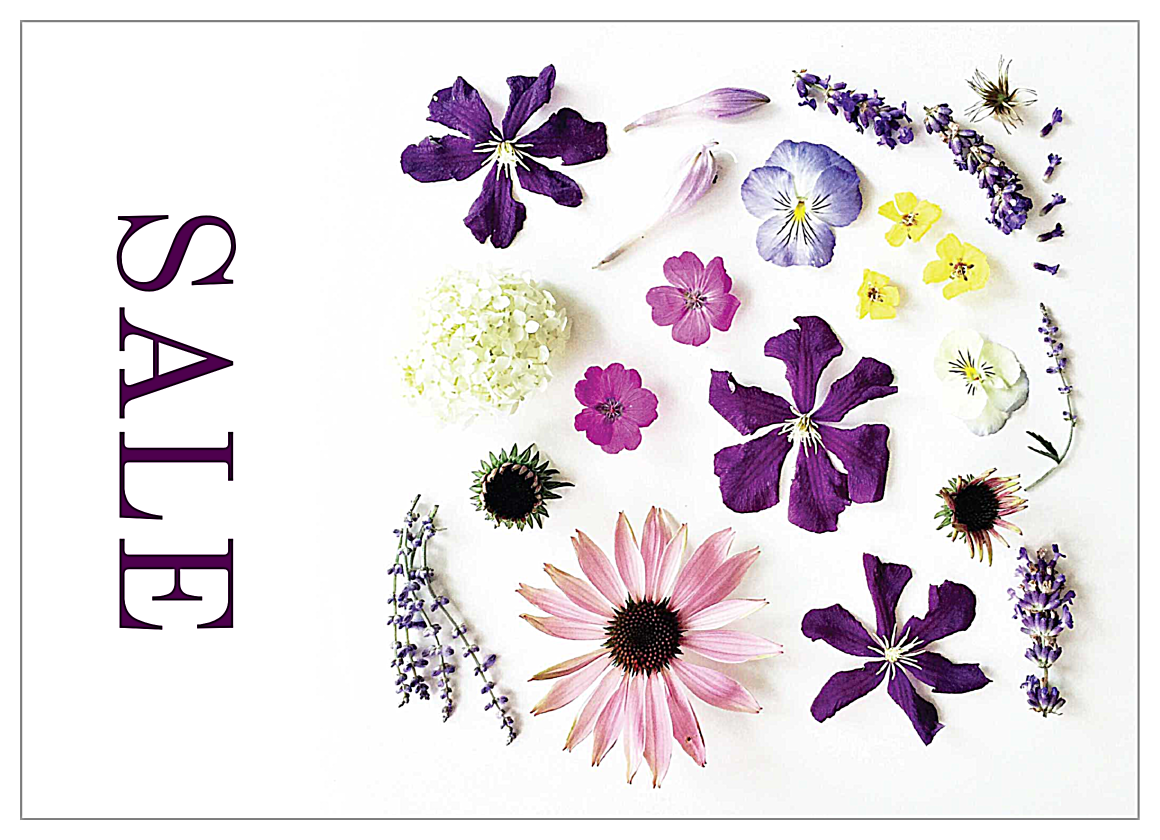 Flowers Invitation Card Design front - Invitation Cards Maker
