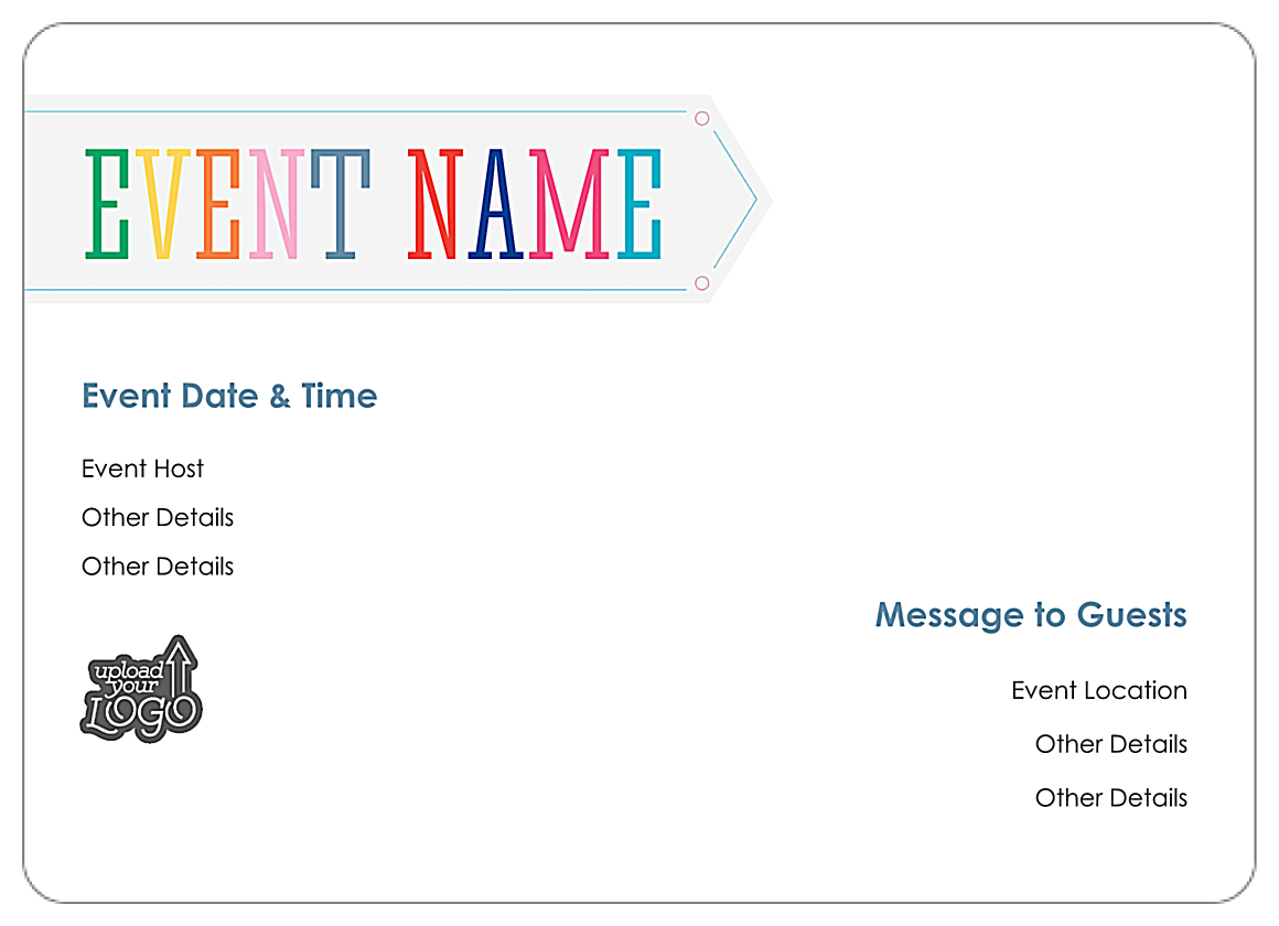 PsPrint(Deluxe) - Free Thank You Party Customizable Invitat