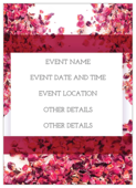 Scattered Flowers - invitation-cards Maker