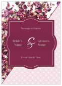 Rose Petals - invitation-cards Maker