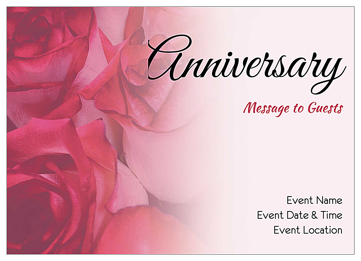 Roses front - Invitation Cards Maker