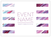Color Strips - invitation-cards Maker
