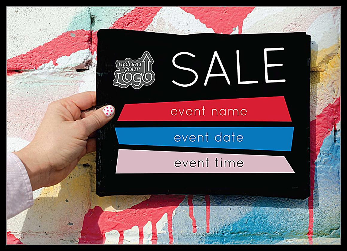 Sale Pop front - Invitation Cards Maker