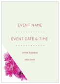Floral Triangles - invitation-cards Maker