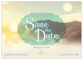 Mountains - invitation-cards Maker