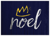 Crowned Noel - invitation-cards Maker