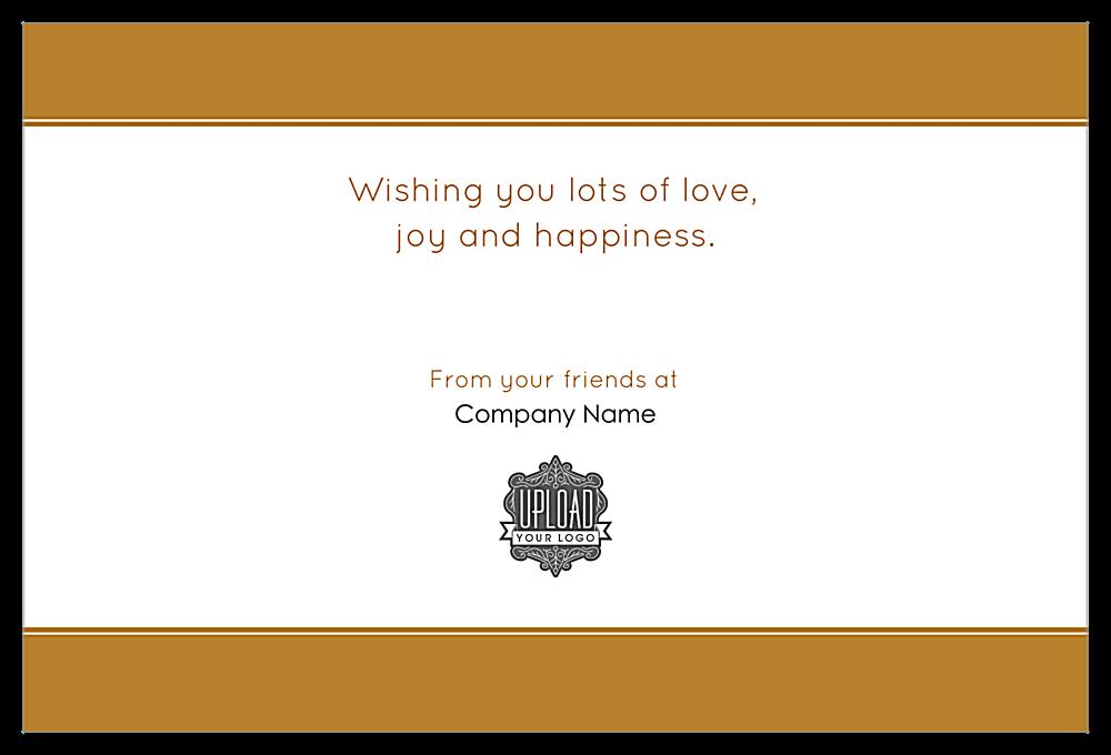Merry Ornament back - Invitation Cards Maker