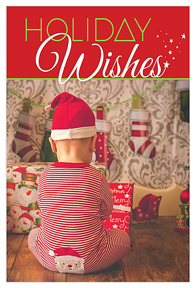 Wishing for Santa front - Invitation Cards Maker