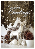Snow Deer - invitation-cards Maker