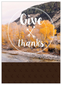 Autumnal Gratitude - invitation-cards Maker