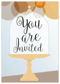 Cake Stands Alone - invitation-cards Maker