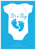 Baby Feet - invitation-cards Maker