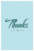 Thanks - invitation-cards Maker