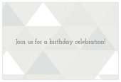 Triangle Party - invitation-cards Maker