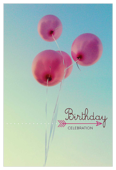 Birthday Balloons - invitation-cards Maker