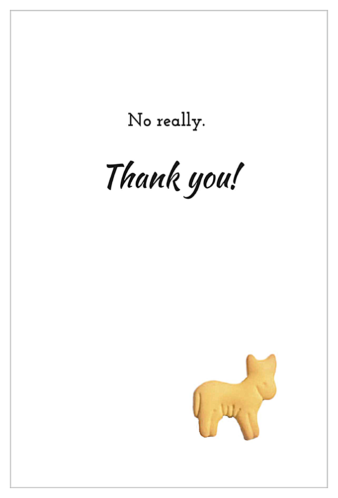 Gee Thank You back - Invitation Cards Maker