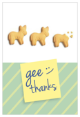 Gee Thank You - invitation-cards Maker