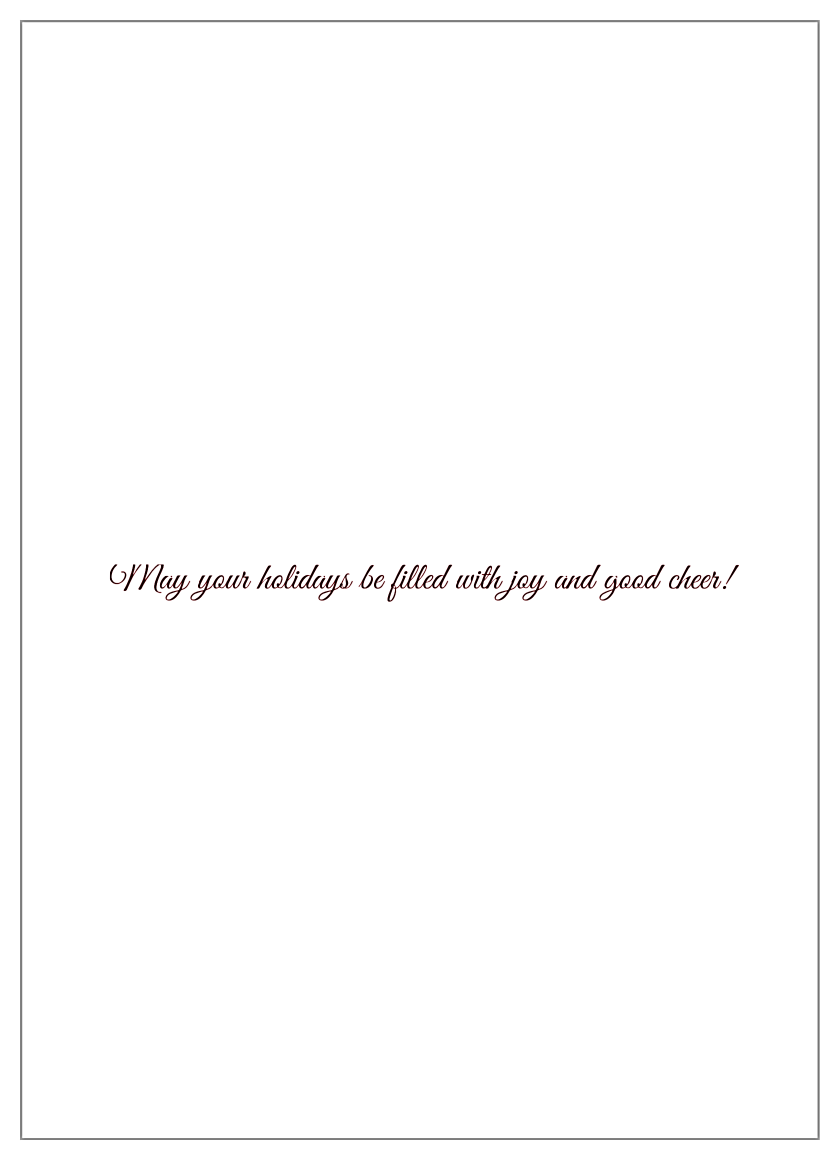 Tree Ribbon back - Invitation Cards Maker
