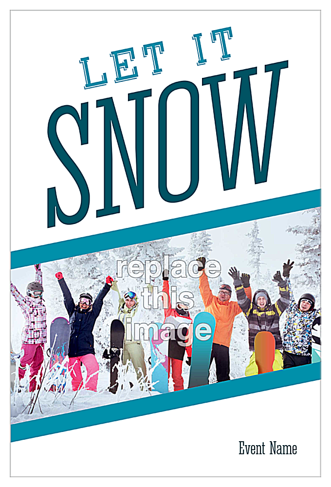 Snowy Funtime front - Invitation Cards Maker