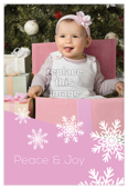 Snow Flake - invitation-cards Maker