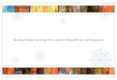 Mosaic Snowflakes - invitation-cards Maker