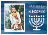 Blessings for Hanukkah - invitation-cards Maker