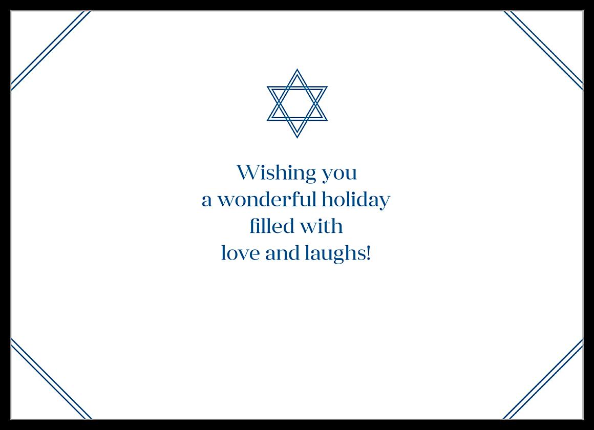 Hanukkah Time back - Invitation Cards Maker