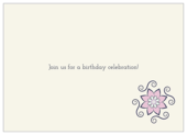 Flower Swirls - invitation-cards Maker