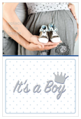 Baby Shoes - invitation-cards Maker