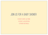 Baby Owl - invitation-cards Maker