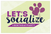 Social Birthday - invitation-cards Maker