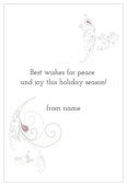 Swirly Christmas - invitation-cards Maker